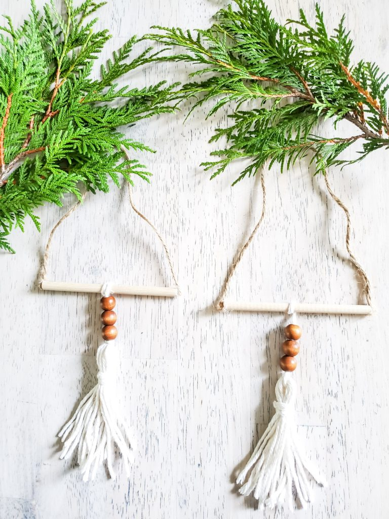 Dollar Tree Diy Boho Christmas Ornament Peony Street